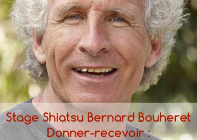 Stage Shiatsu avec Bernard Bouheret